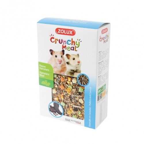 Aliment pour rongeur - Crunchy Meal Hamsters pour rongeurs