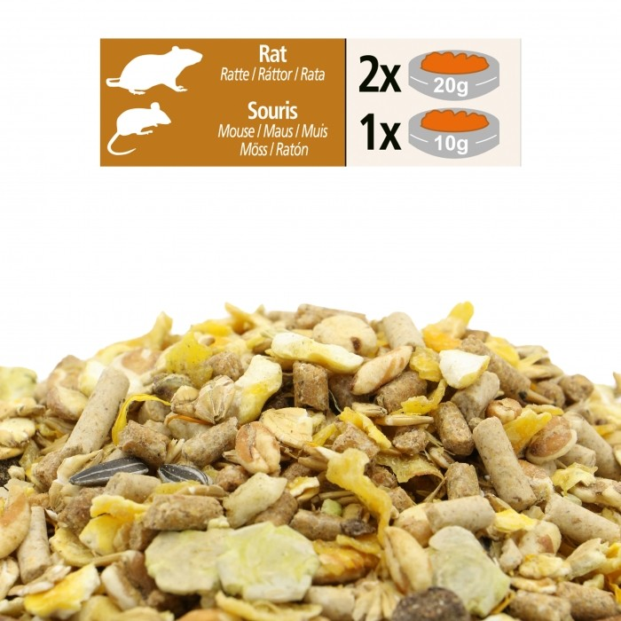 Aliment pour rongeur - Mix  Rat Souris pour rongeurs