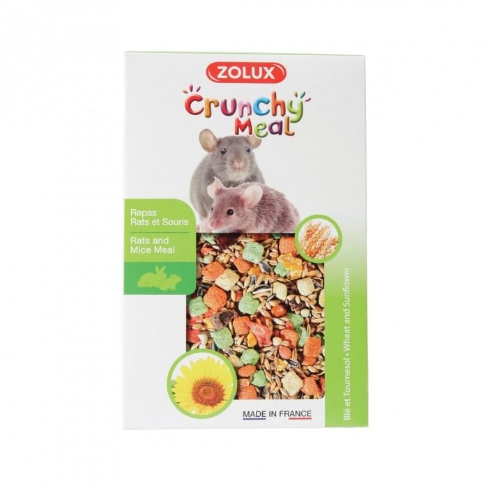 Aliment pour rongeur - Crunchy Meal Rats et Souris pour rongeurs