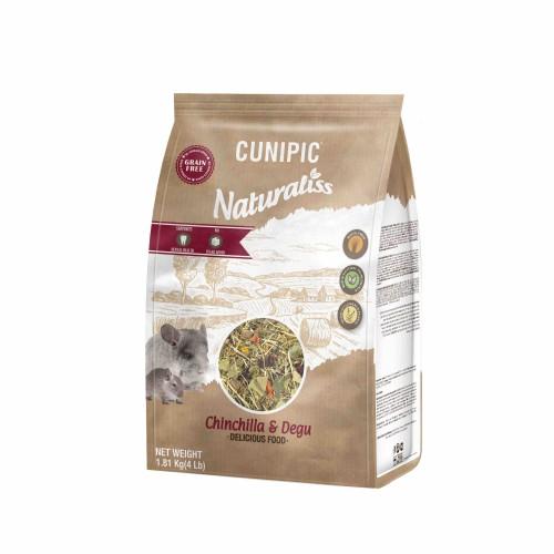 Aliment pour rongeur - Naturaliss Chinchilla et degu pour rongeurs
