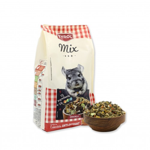 Aliment pour rongeur - Mix Chinchilla pour rongeurs
