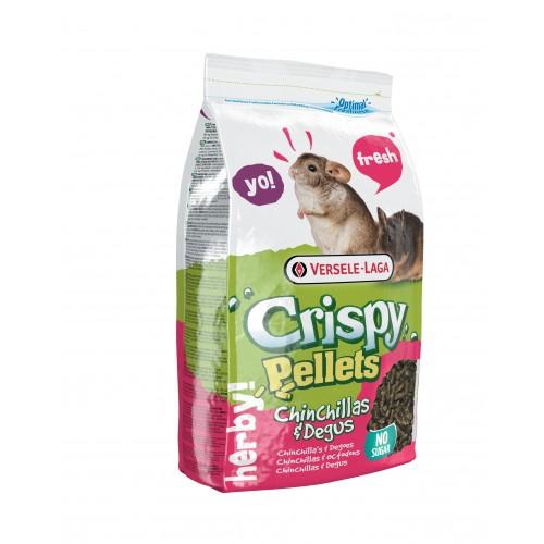 Aliment pour rongeur - Crispy Pellets Chinchilla & Degu pour rongeurs