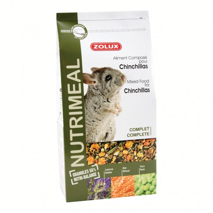 Aliment pour rongeur - Nutrimeal chinchillas pour rongeurs