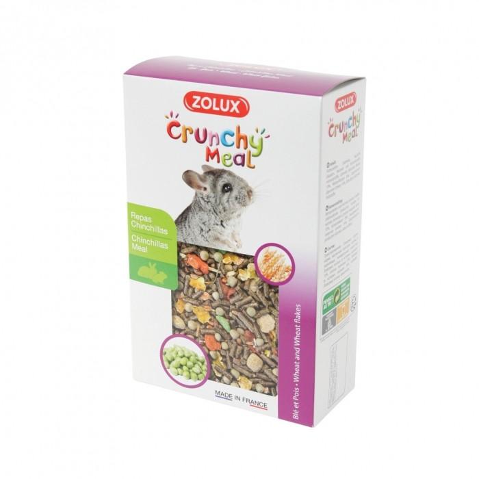 Aliment pour rongeur - Crunchy Meal Chinchillas pour rongeurs