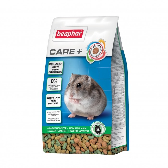 Aliment pour rongeur - Care + Hamster nain pour rongeurs