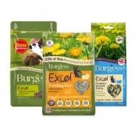 Alimentation Rongeurs - Pack découverte pour rongeurs Burgess
