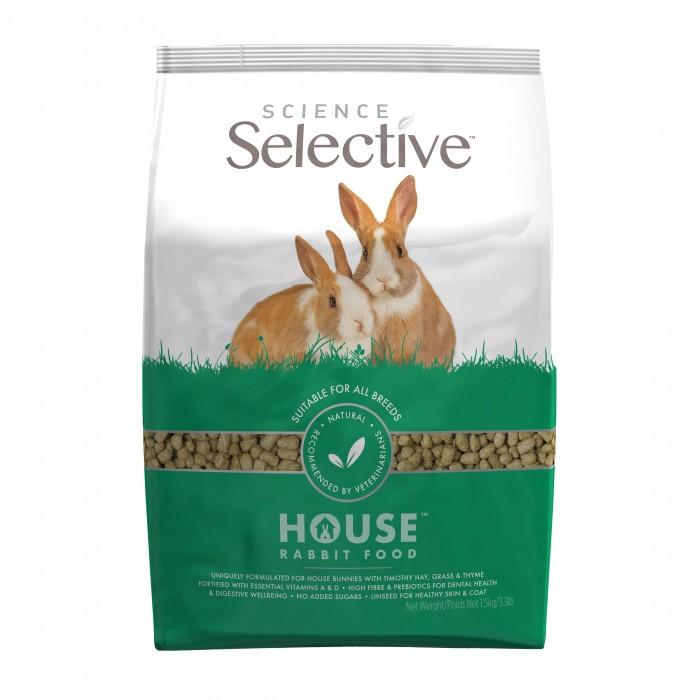 Aliment pour rongeur - Selective Lapin Adulte House pour rongeurs