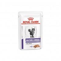 Sachets fraîcheur pour chat - Royal Canin Veterinary Mature Consult Balance