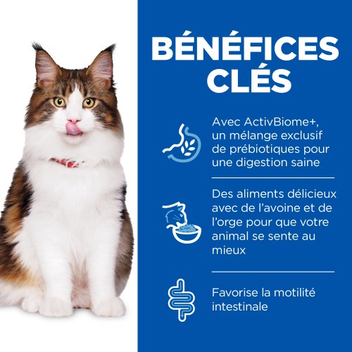 Alimentation pour chat - Hill's Science Plan Perfect Digestion Adult pour chats