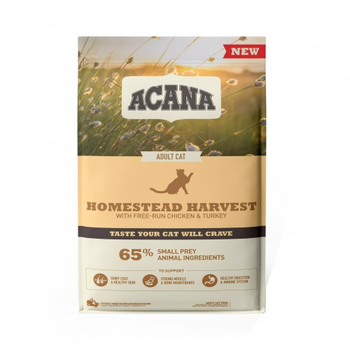 Alimentation pour chat - Acana Homestead Harvest - Adulte pour chats
