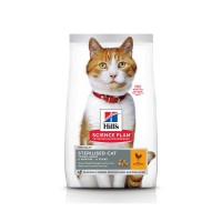 Croquettes pour chat - HILL'S Science Plan Young Adult Sterilised Cat - poulet