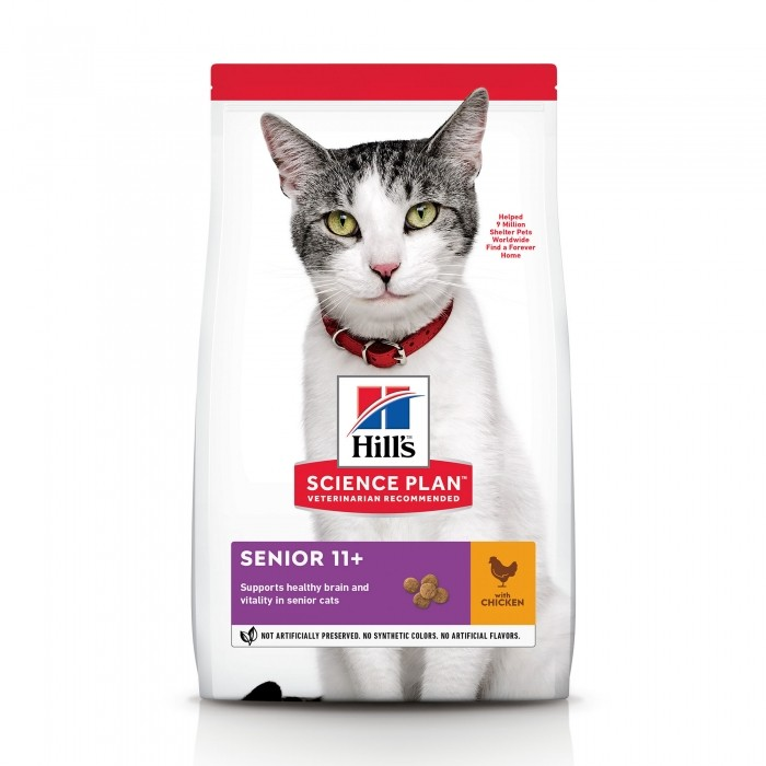 Alimentation pour chat - Hill's Science Plan Senior 11+ pour chats