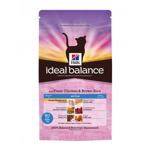 Alimentation pour chat - HILL'S Ideal Balance pour chats