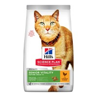 Croquettes pour chat de plus de 7 ans - HILL'S Science plan Senior Vitality Mature Adult 7+