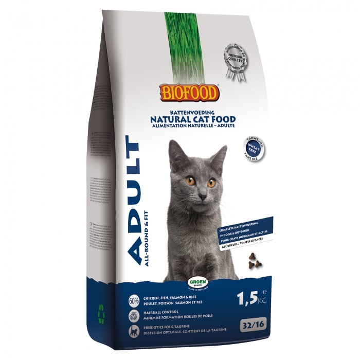 Alimentation pour chat - BIOFOOD Adult pour chats