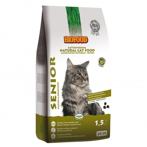 Alimentation pour chat - BIOFOOD pour chats