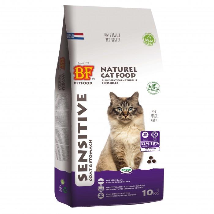 Alimentation pour chat - BIOFOOD Sensitive pour chats