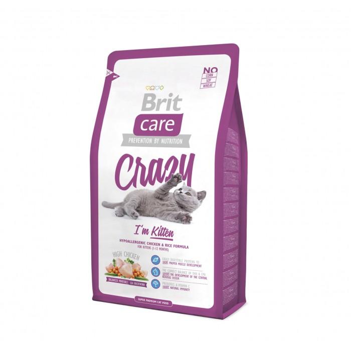 Alimentation pour chat - Brit Care Crazy I'm Kitten pour chats