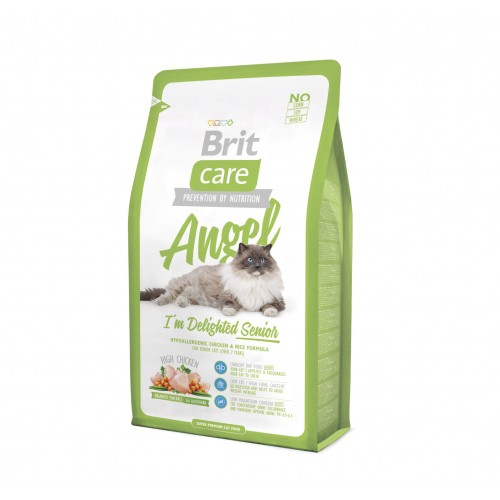 Alimentation pour chat - Brit Care Angel I'm Delighted Senior pour chats