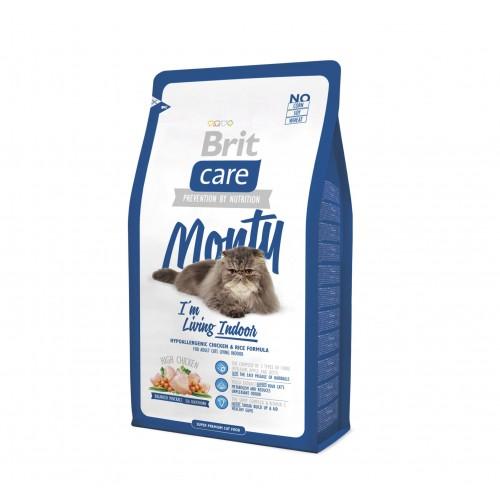 Alimentation pour chat - Brit Care Monty I'm living Indoor pour chats