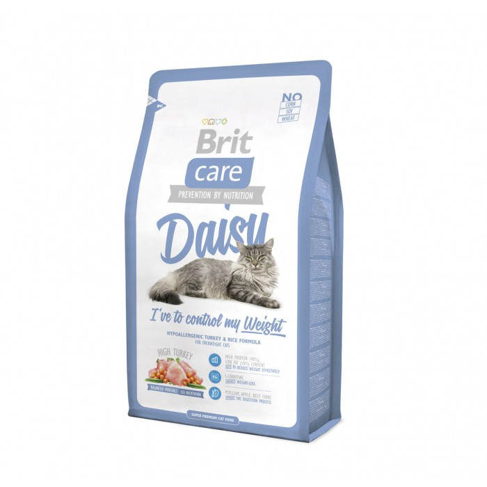 Alimentation pour chat - Brit Care Daisy I've to control my Weight pour chats