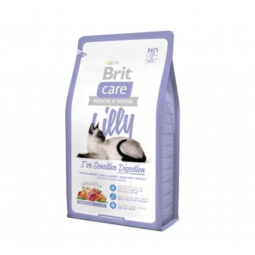 Croquettes pour chat - Brit Care Lilly I've Sensitive Digestion