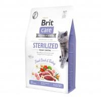 Croquettes pour chat - Brit Care Sterilized Weight Control