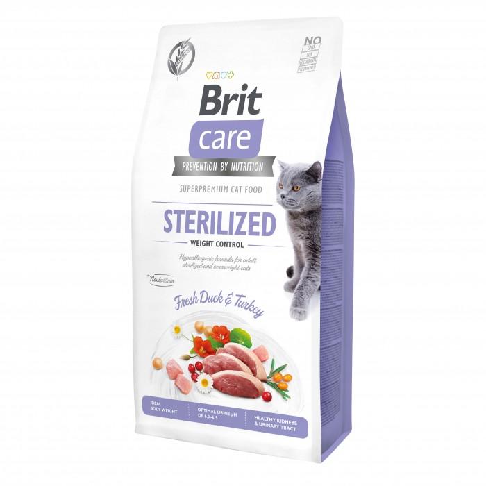 Alimentation pour chat - Brit Care Sterilized Weight Control pour chats