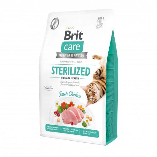 Alimentation pour chat - Brit Care Sterilized Urinary Health pour chats