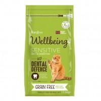 Croquettes pour chat - Burgess Wellbeing Digestion Sans Céréales