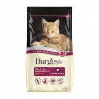 Croquettes pour chat - Burgess Chat Mature - Dinde et Cranberry