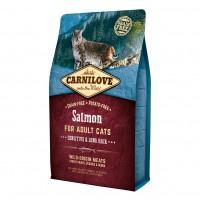 Croquettes pour chat - CARNILOVE Adult Sensitive & Long Hair Saumon