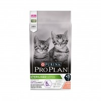 Croquettes pour chat - PURINA PROPLAN Sterilised Kitten OptiStart Saumon