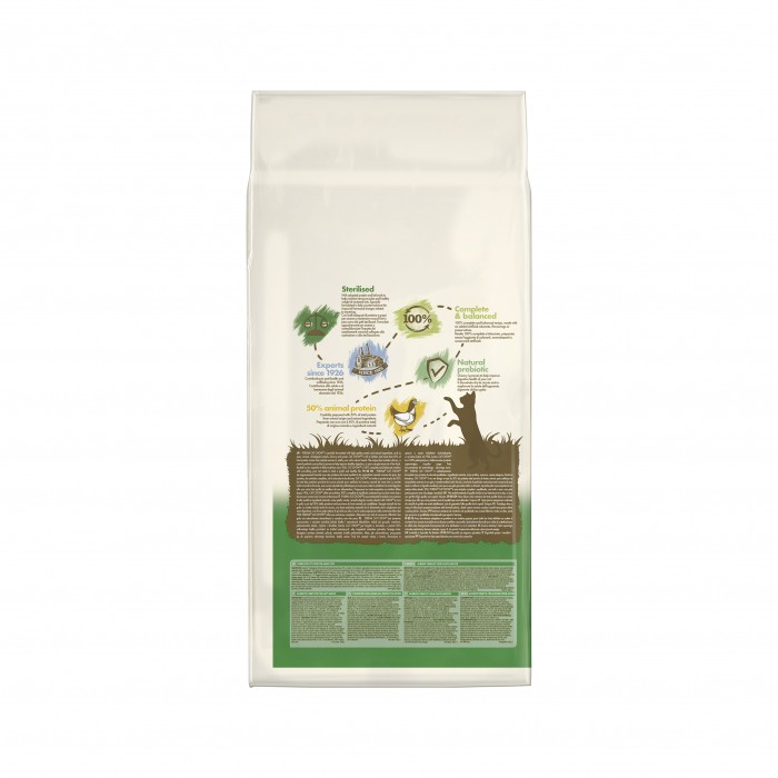 Alimentation pour chat - PURINA CAT CHOW Sterilised pour chats