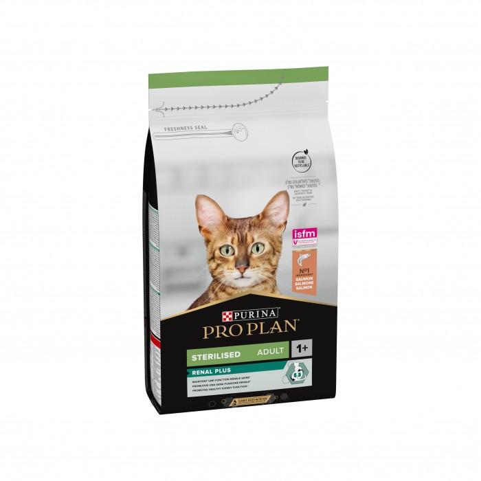 Alimentation pour chat - Proplan Sterilised Adult OptiRenal Saumon pour chats