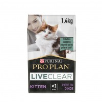 pour chat - Proplan LiveClear Sterilised Kitten Dinde