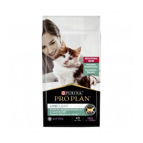 Alimentation pour chat - Proplan LiveClear Kitten pour chats