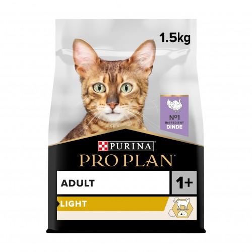 Alimentation pour chat - Proplan Light Adult OptiLight pour chats
