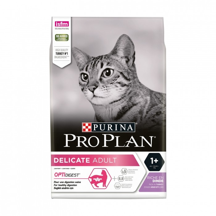 Proplan Delicate Adult OptiDigest-Delicate Dinde