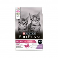 Croquettes pour chat - PURINA PROPLAN Delicate Kitten OptiDigest Dinde