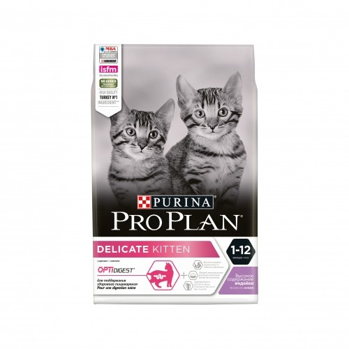Alimentation pour chat - Proplan Delicate Kitten OptiDigest pour chats