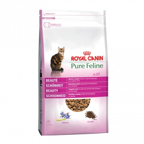 royal canin croquettes pour chat pure feline beaut wanimo. Black Bedroom Furniture Sets. Home Design Ideas
