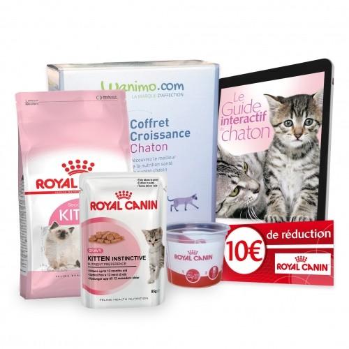 Royal canin kit pour chaton coffret croissance chaton - Croquettes royal canin club cc sac de 20kg ...