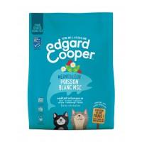 Croquettes pour chat - Edgard & Cooper, Merveilleux poisson blanc MSC pour chat Adulte Sans céréales