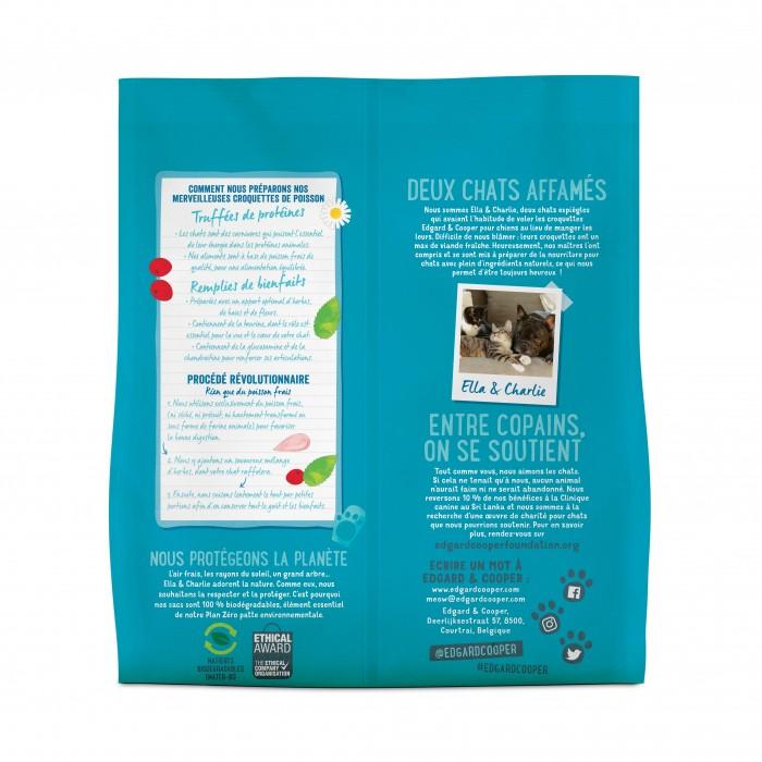 Alimentation pour chat - Edgard & Cooper, Merveilleux poisson blanc MSC pour chat pour chats