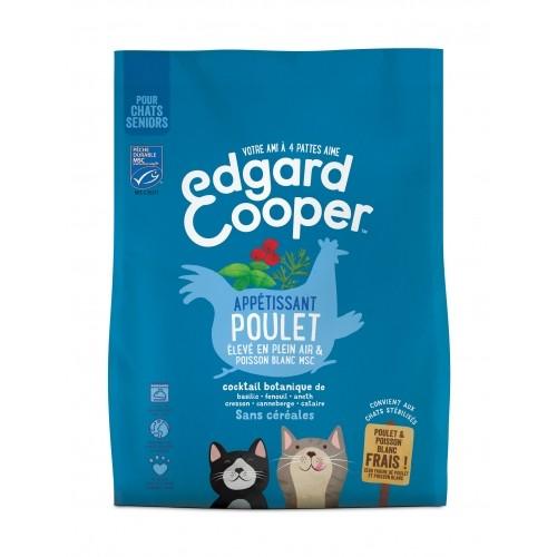 Alimentation pour chat - Edgard & Cooper, Appétissant poulet pour chat sénior pour chats
