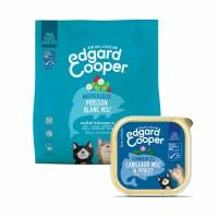 Croquettes et pâtées pour chat - Edgard & Cooper Pack Découverte Spécial Beau Poil - Poisson - Sans céréales