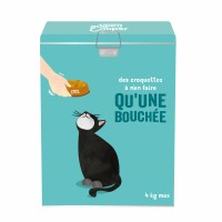 Croquettes et pâtées pour chat - Edgard & Cooper Pack Vacances avec boîte hermétique
