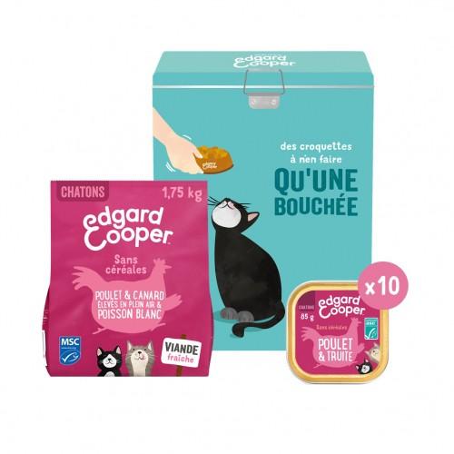 Alimentation pour chat - Edgard & Cooper Pack découverte Chaton pour chats