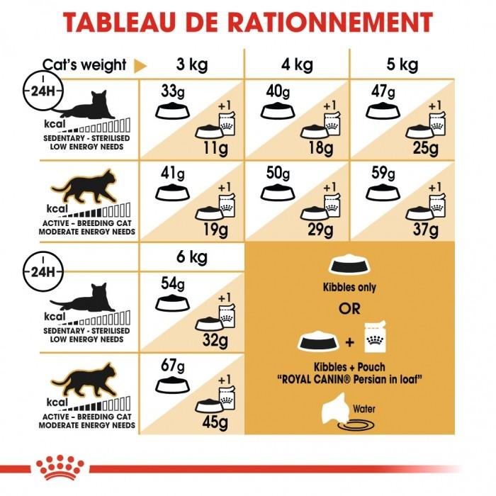 Alimentation pour chat - Royal Canin Persian Adult pour chats